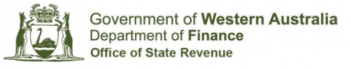 Department Finance Office of State Revenue
