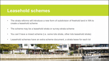 Leasehold Scheme